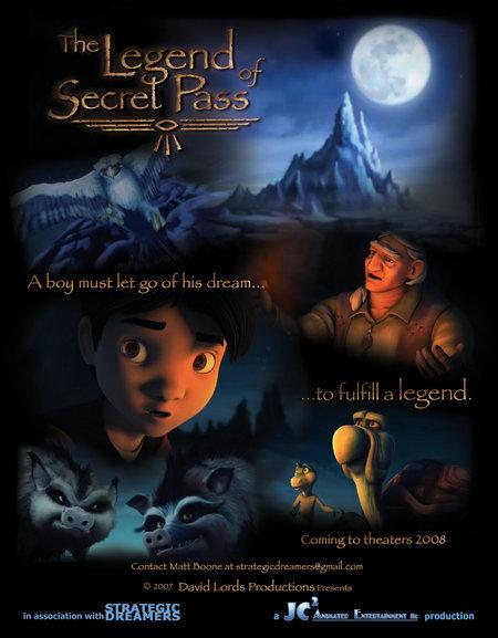The Legend Of Secret Pass (2018) HDRip AC3 X264-CMRG
