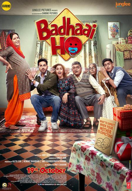 Badhaai Ho 2018 - BluRay - 720p - x264 - AC3 5 1 - ESubs - Madhu