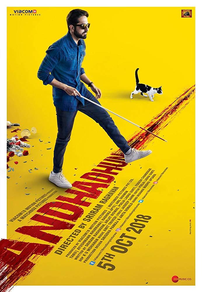Andhadhun (2018) (1080p BluRay x265 HEVC 10bit AAC 5 1 Hindi Natty) [QxR]