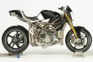 Sepeda Motor termahal Macchia Nera Concept Bike