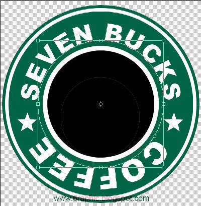 How to create Starbucks logo
