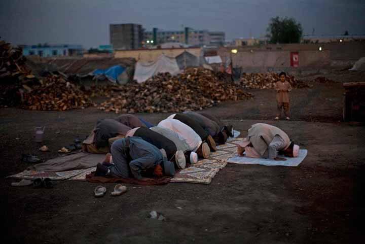 La vida en Afganistán en agosto de 2010
