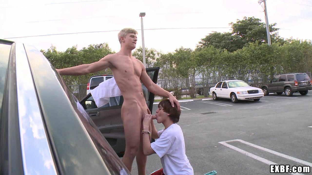 Alex Waters Porno blonde guy from hazehim