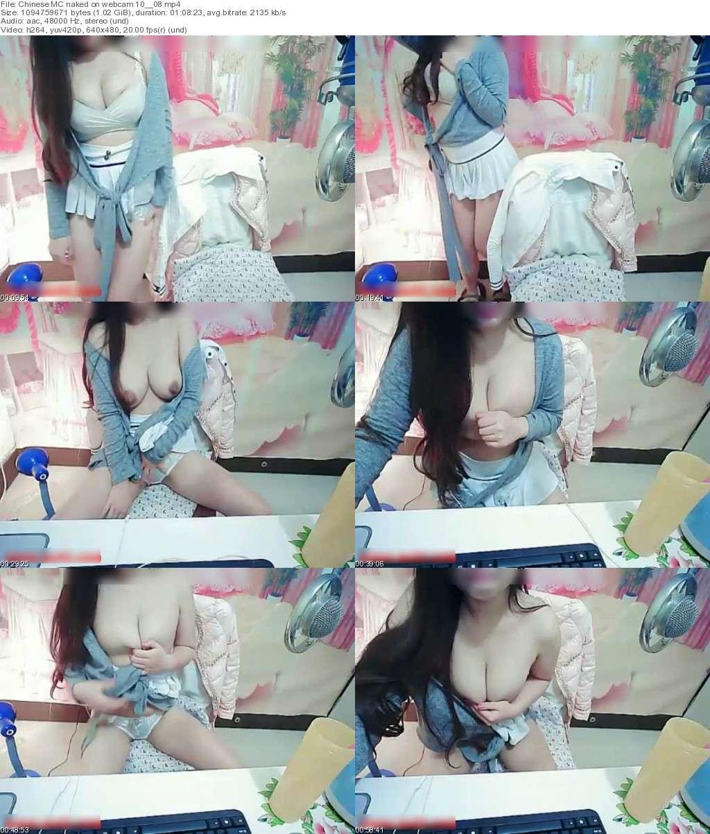 Chinese MC naked on webcam