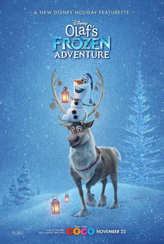 Olafs Frozen Adventure 2017 HDRip XviD AC3-EVO