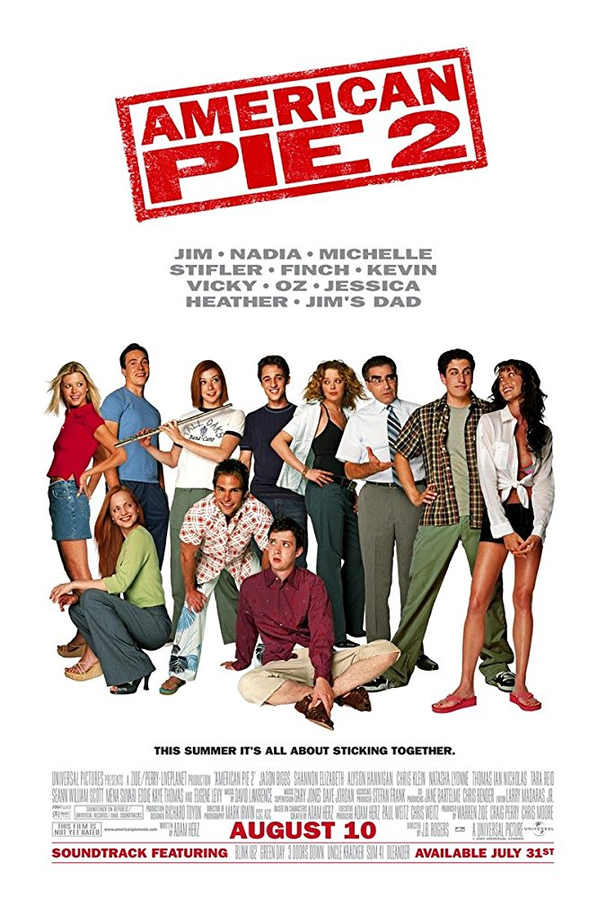 American Pie 2 2001 UNRATED BRRip XviD MP3-XVID