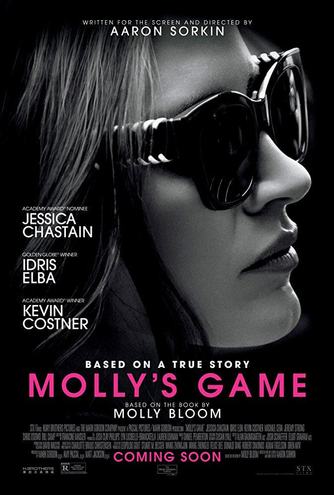 Molly's Game (2017) [WEBRip] [720p] YIFY
