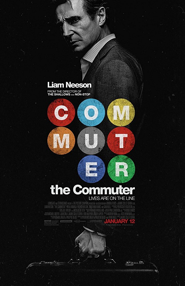 The Commuter 2018 720p HDRip X264 AC3-EVO