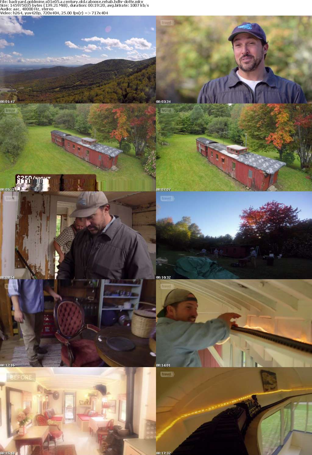 Backyard Goldmine S01E05 A Century Old Caboose Rehab HDTV x264-dotTV