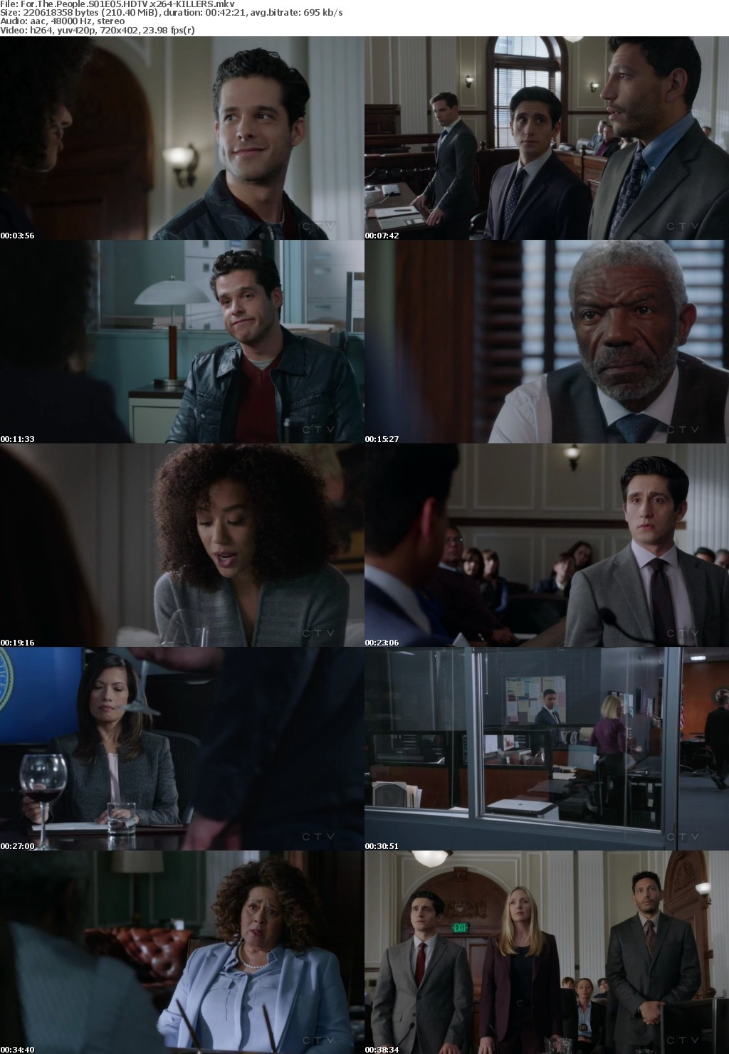 For The People S01E05 HDTV x264-KILLERS
