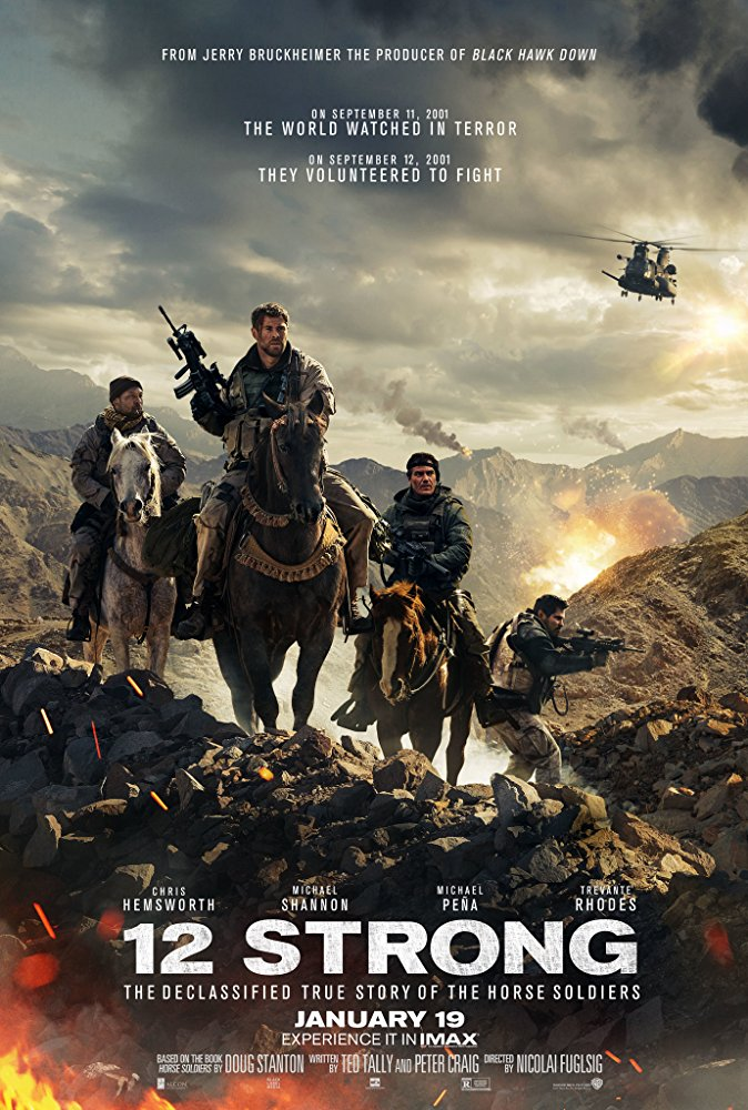 12 Strong 2018 720p BRRip 950 MB - iExTV