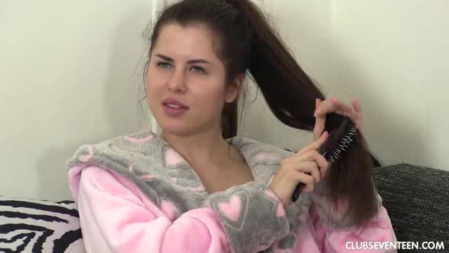 Sex brunette brunette deepthroat teen