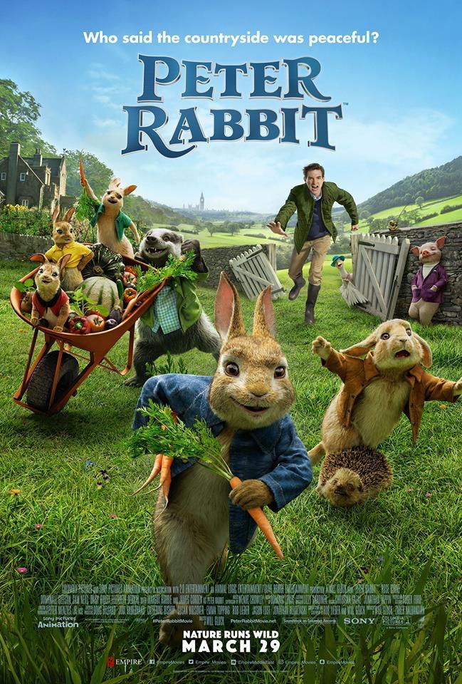 Peter Rabbit 2018 1080p BRRip x264 ESub MW