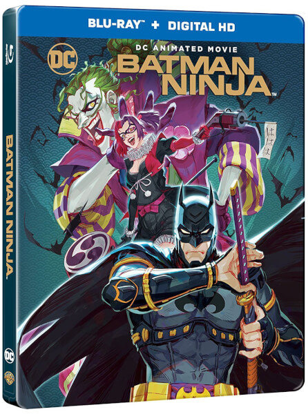 Batman Ninja (2018) 720p WEB-DL H264 AC3 LLG