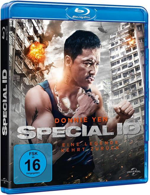 Special ID (2013) 720p BluRay Dual Audio [Eng+Hindi] 450MB ESubs HEVC-DLW