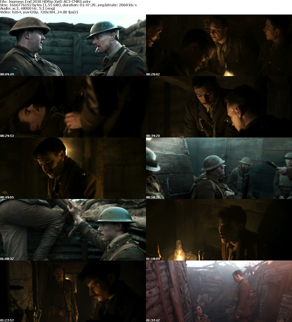Journeys End (2018) HDRip X264 AC3-CMRG