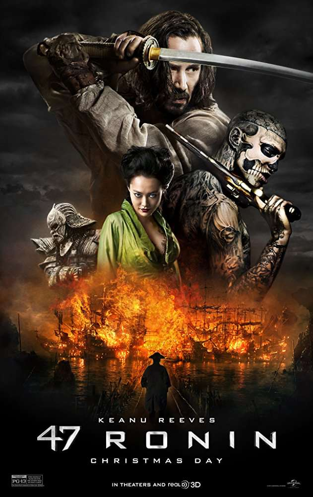 47 Ronin 2013 720p BluRay x264 Dual Audio Hindi DTS 5 1 - English DD 2 0 ESub MW