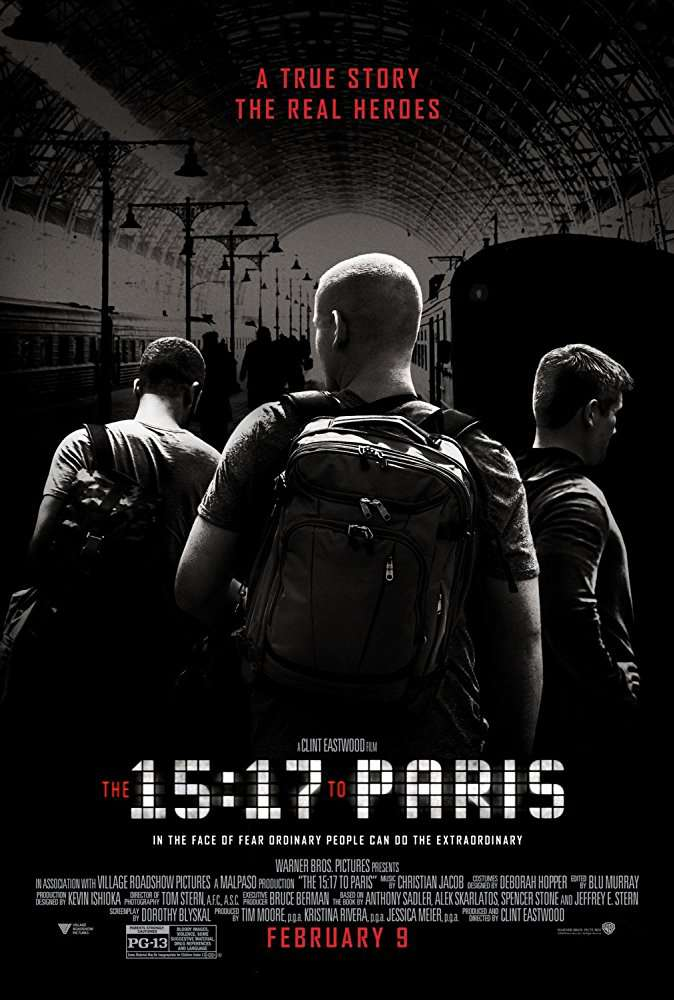 The 15 17 to Paris 2018 720p BluRay x264-GECKOS