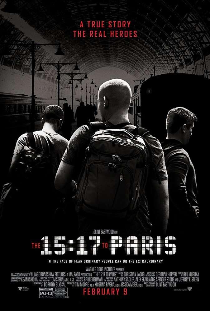 The 15 17 to Paris 2018 720p BRRip x264 AC3-iFT