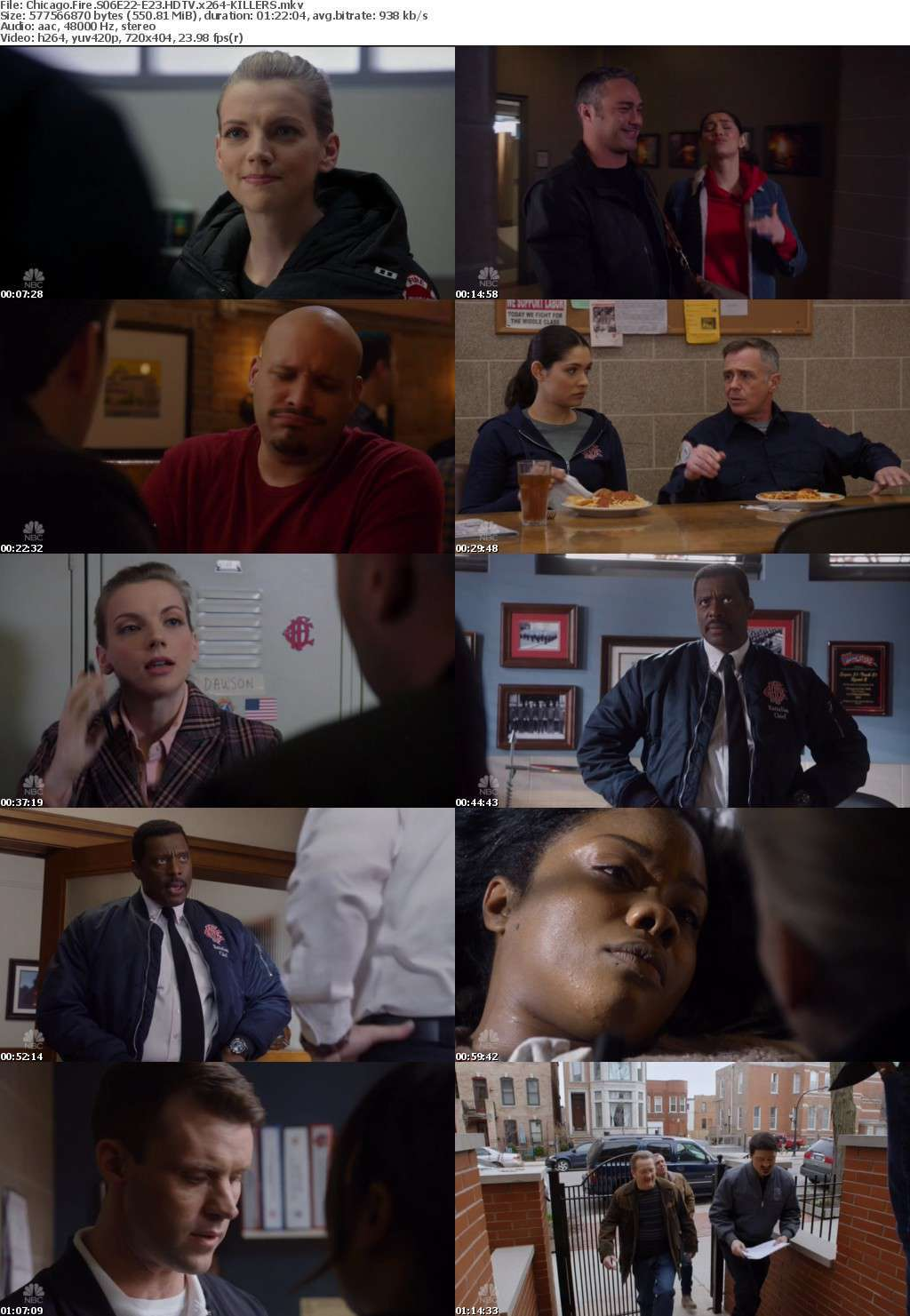 Chicago Fire S06E22-E23 HDTV x264-KILLERS