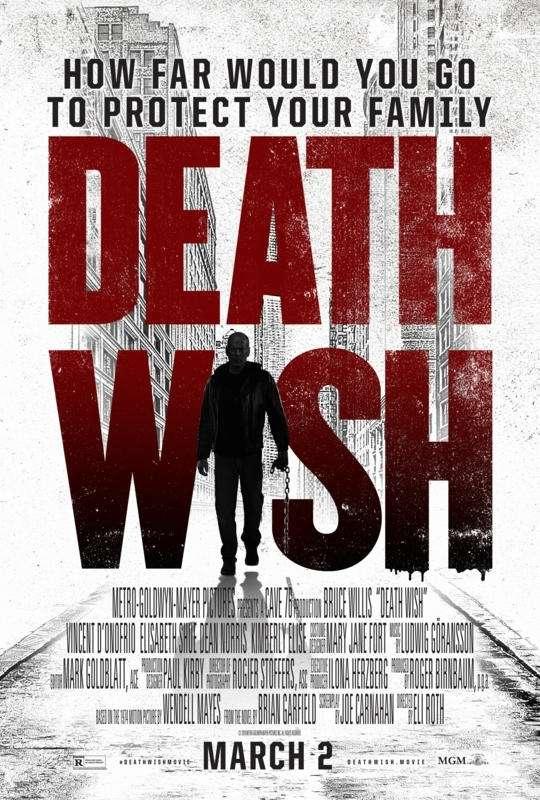 Death Wish 2018 HDRip XviD AC3-EVO