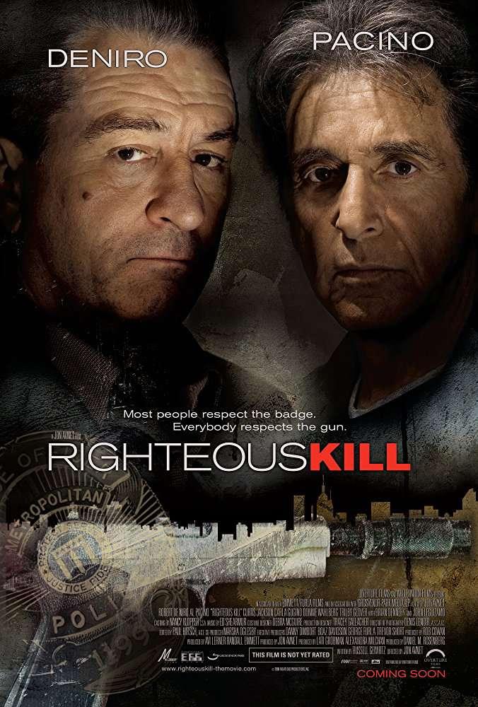 Righteous Kill (2008) [BluRay] [720p] YIFY