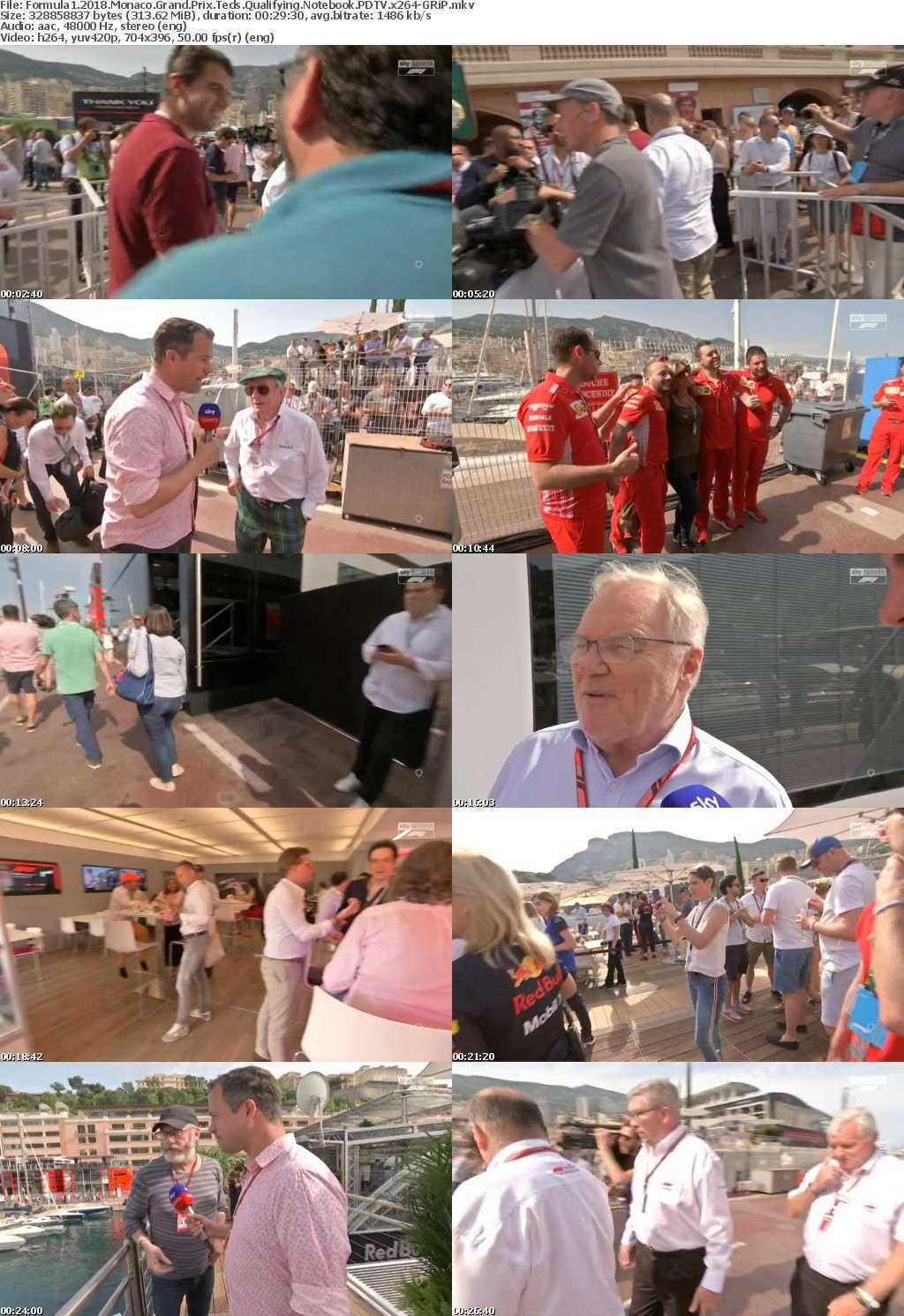 Formula1 2018 Monaco Grand Prix Teds Qualifying Notebook PDTV x264-GRiP