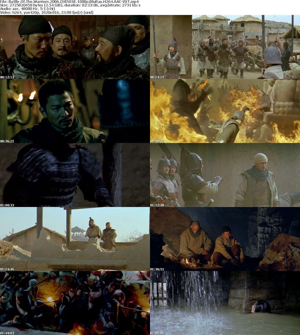 Battle Of The Warriors 2006 CHINESE 1080p BluRay H264 AAC-VXT