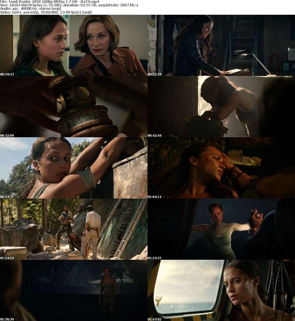 Tomb Raider (2018) 1080p BRRip 1.7 GB - iExTV