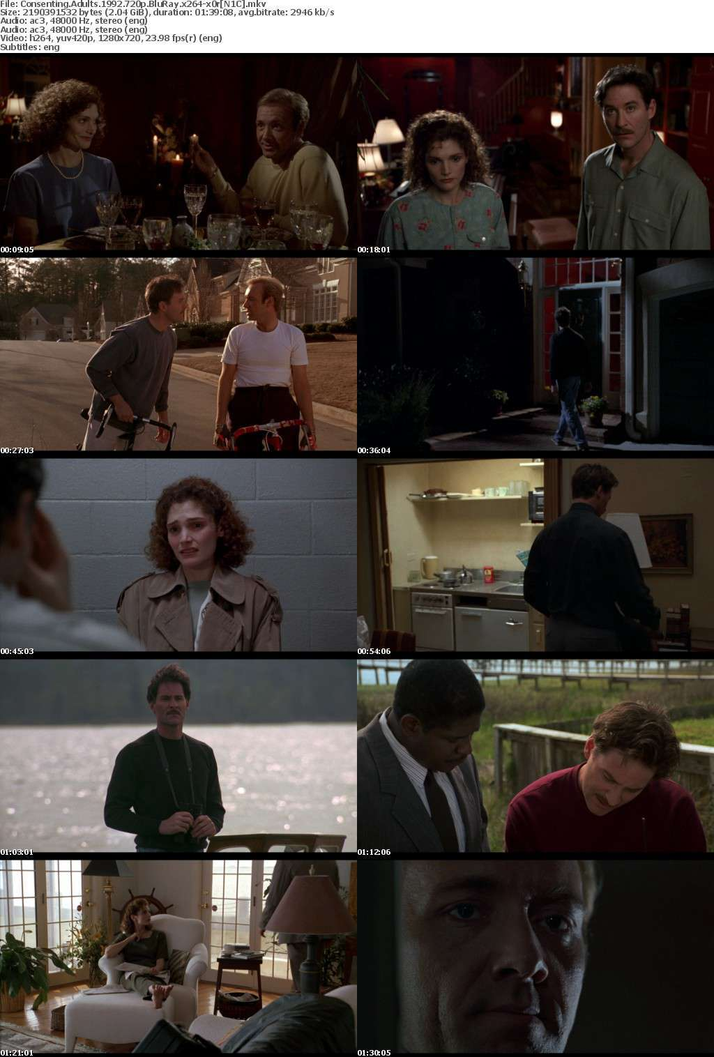 Consenting Adults (1992) 720p BluRay x264-x0r