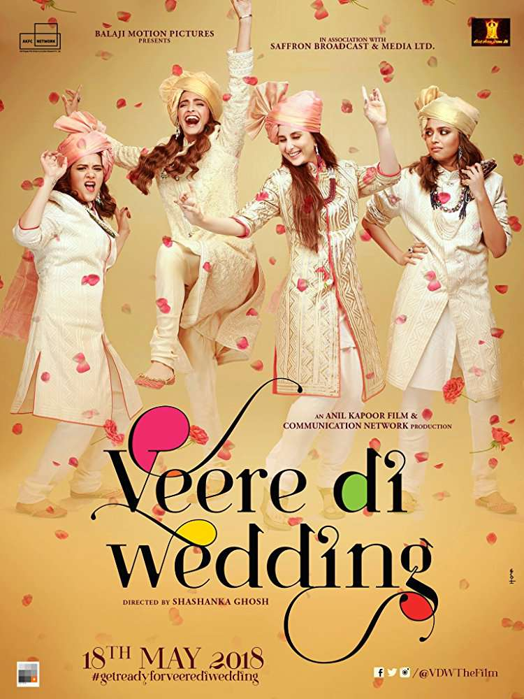Veere Di Wedding 2018 720p PreDvDRip x264 Cleaned AAC Audio LLG