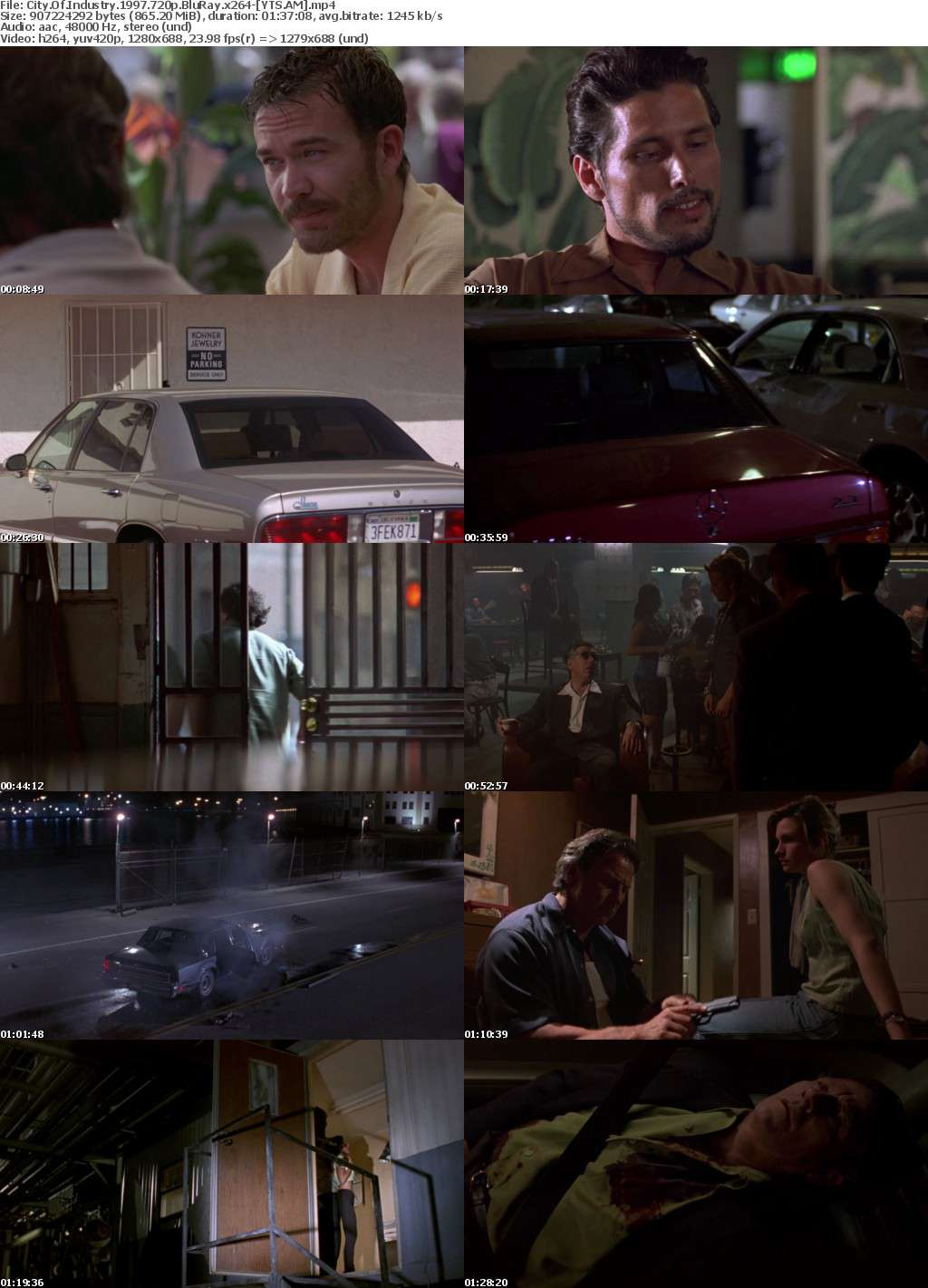 City of Industry (1997) [BluRay] [720p] YIFY