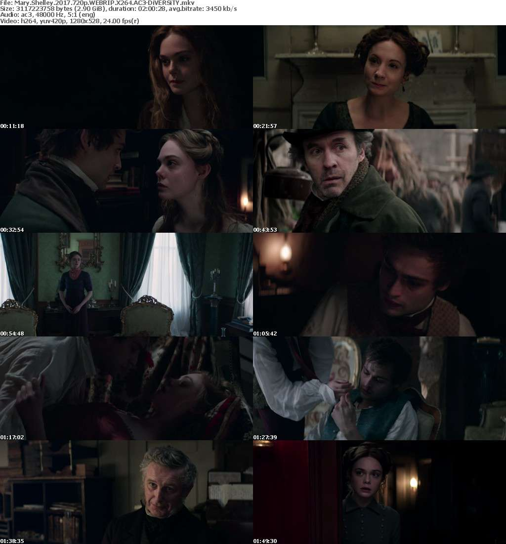 Mary Shelley 2017 720p WEBRIP X264 AC3-DiVERSiTY