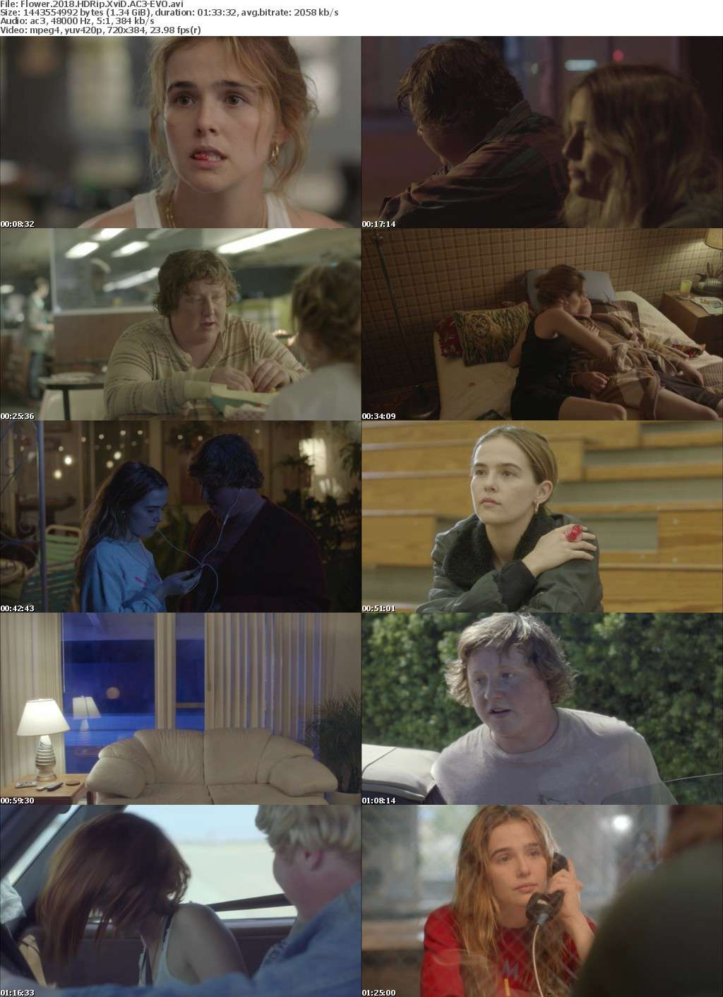 Flower 2018 HDRip XviD AC3-EVO