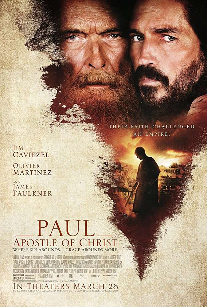 Paul Apostle of Christ 2018 BRRip XviD AC3-EVO
