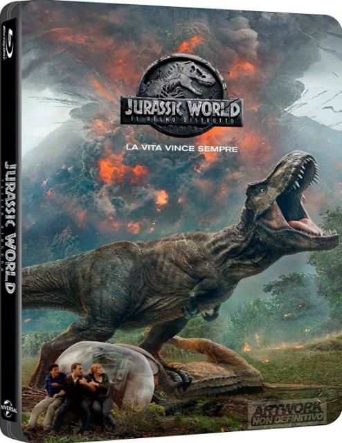 Jurassic World Fallen Kingdom (2018) 720p BluRay ORG Dual Audio [English+Hindi] ESubs-DLW
