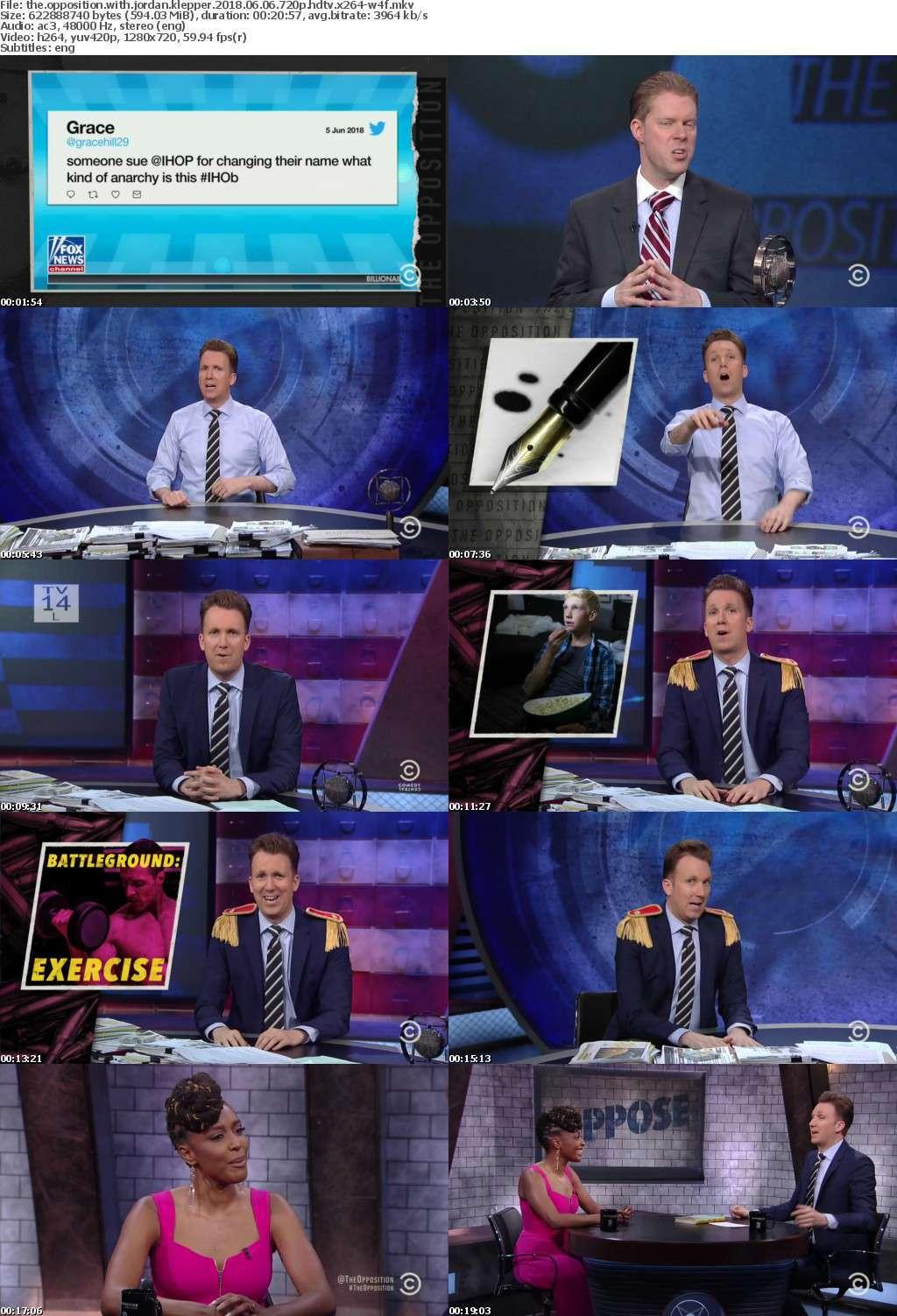 The Opposition with Jordan Klepper 2018 06 06 720p HDTV x264-W4F