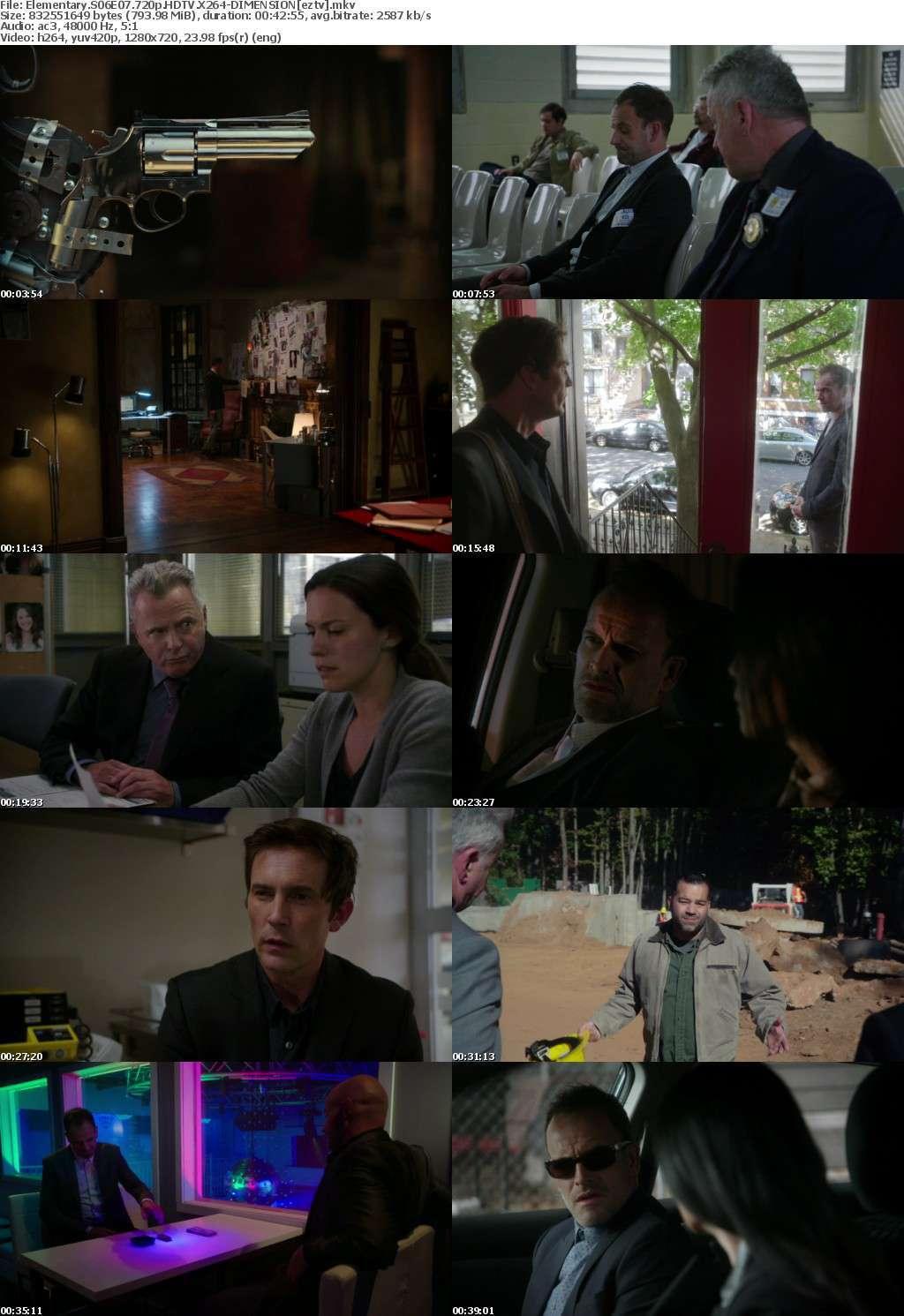 Elementary S06E07 720p HDTV X264-DIMENSION
