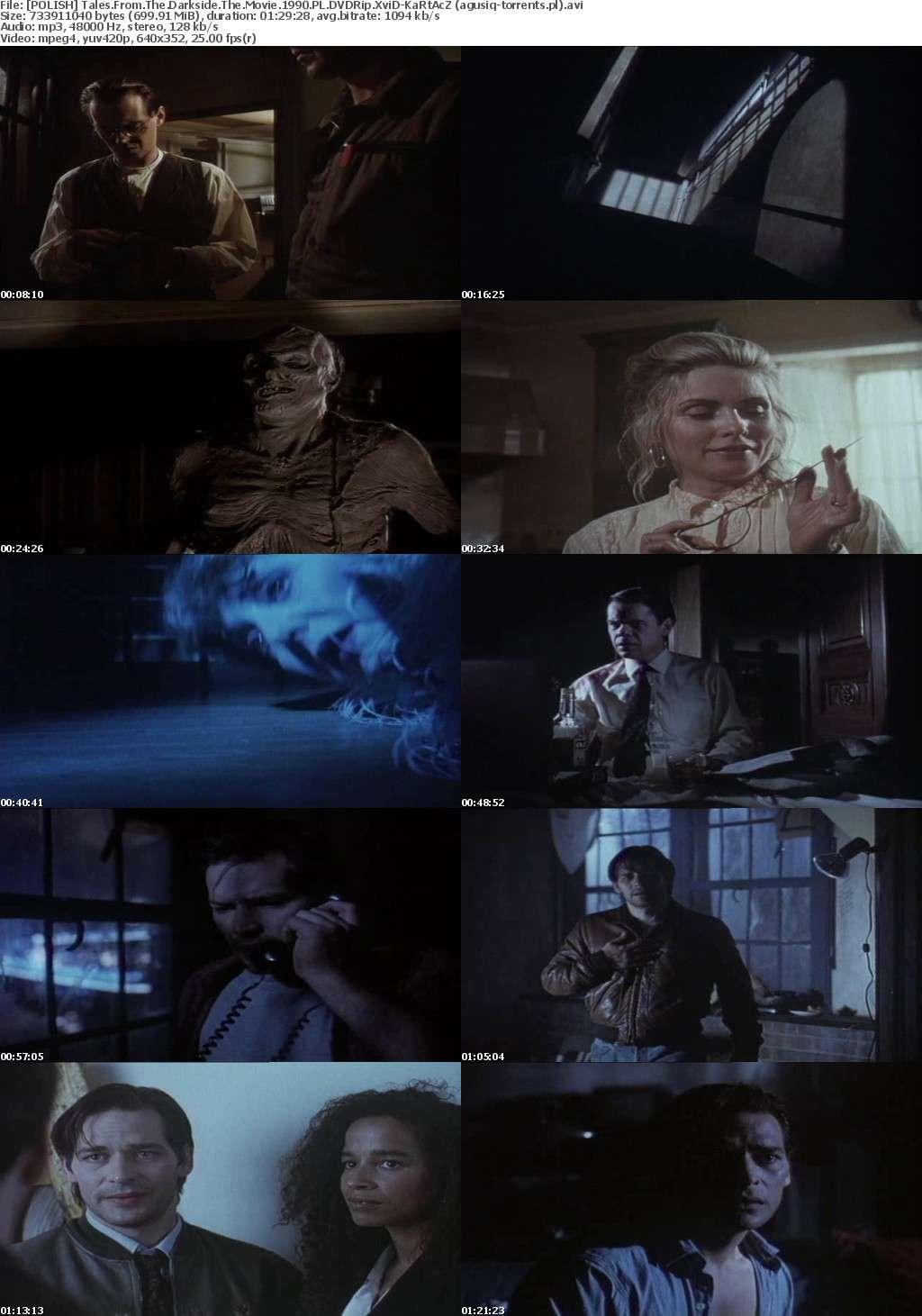 POLISH Opowiesci z ciemnej strony (1990) - Tales from the Darkside The Movie