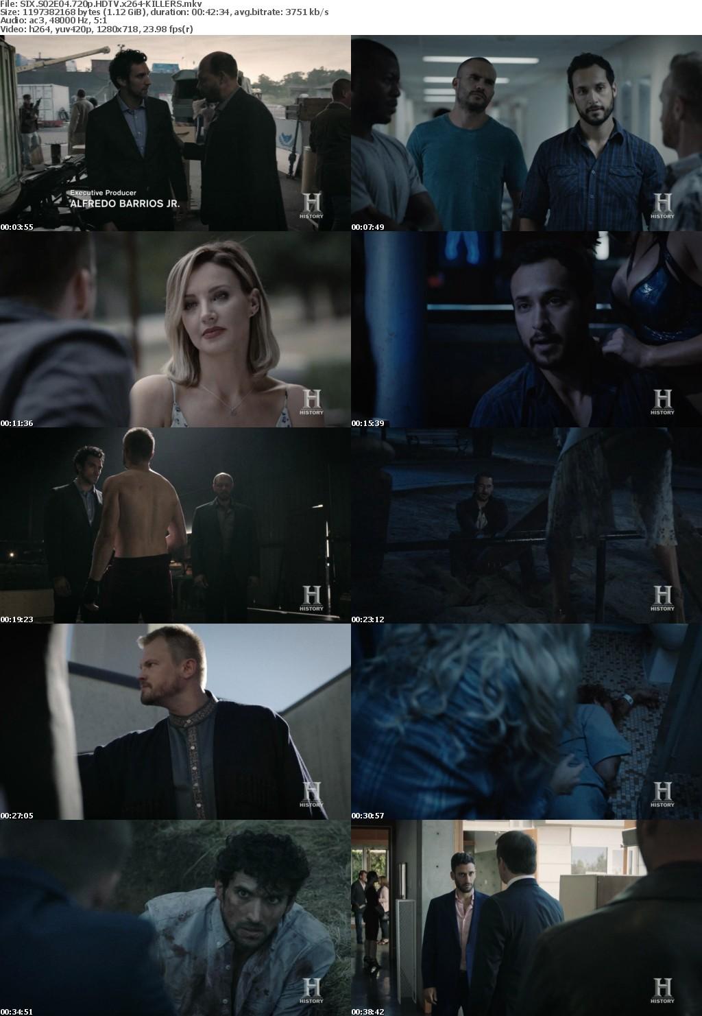 SIX S02E04 720p HDTV x264-KILLERS