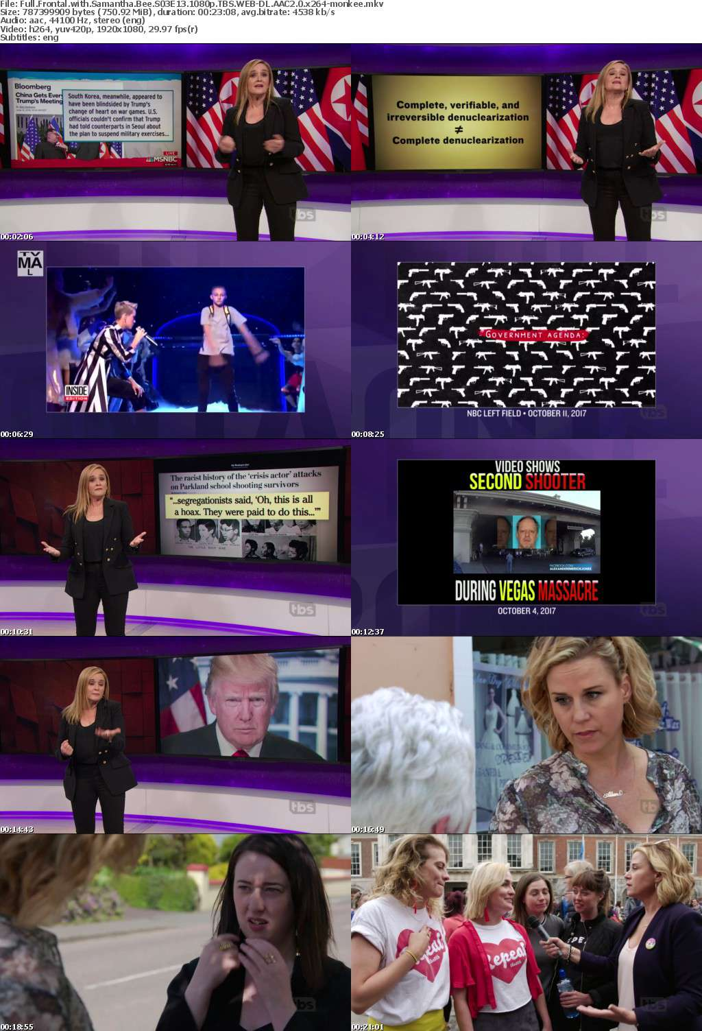 Full Frontal with Samantha Bee S03E13 1080p TBS WEB-DL AAC2 0 x264-monkee