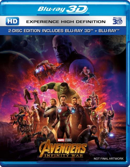 Avengers Infinity War (2018) 720p BluRay Dual Audio [Hindi+Eng] x264 1GB ESubs-DLW