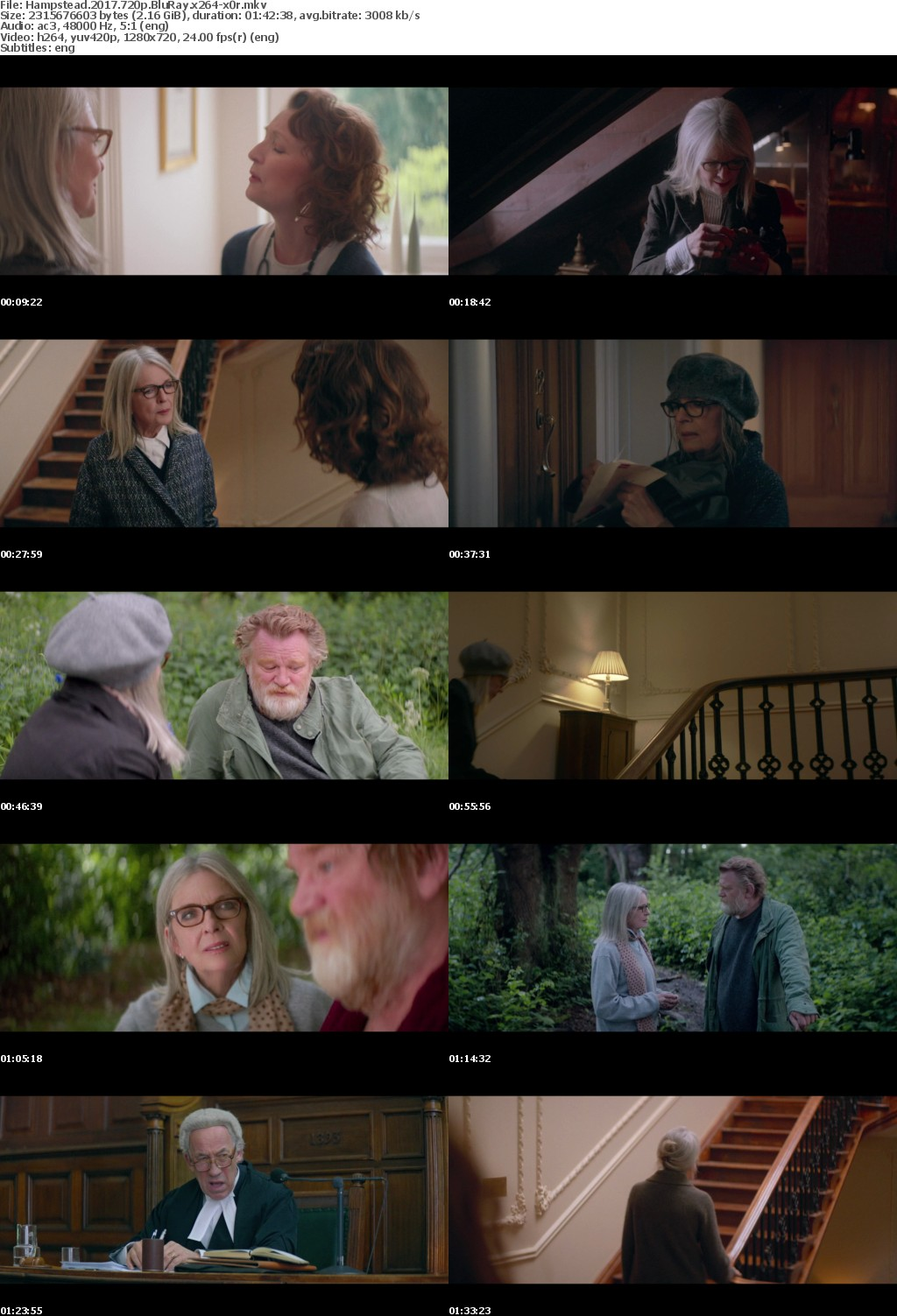 Hampstead 2017 720p BluRay x264-x0r