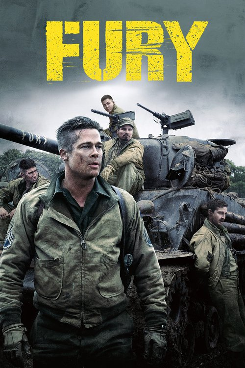 Fury (2014) 1080p [Remastered From 4K] x265 HEVC 10bit HDR TrueHD-5 1Prezton