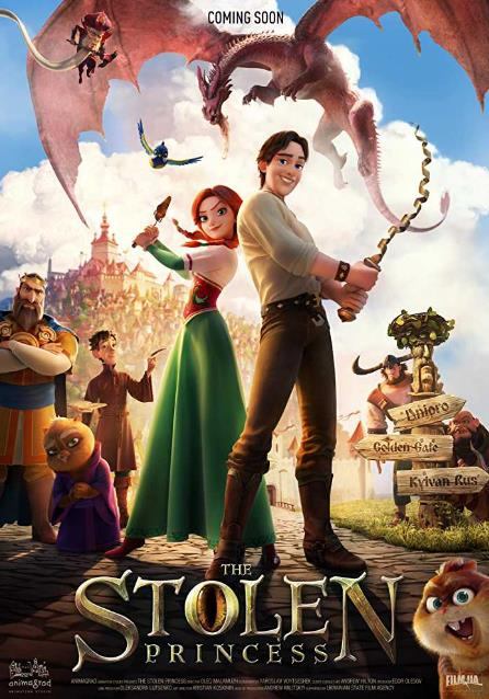 The Stolen Princess (2018) 720p WEB-HD x264 650MB-iExTV