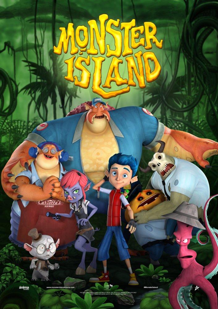 Monster Island 2017 720p BDRip AC3 X264-CMRG