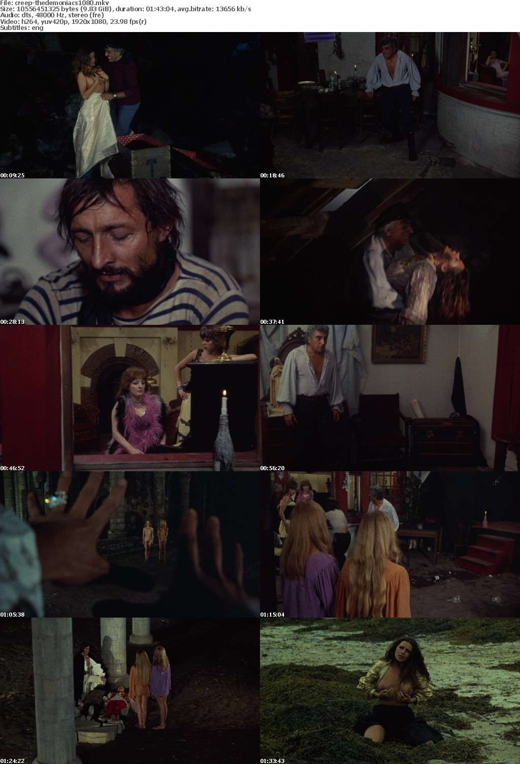 The Demoniacs 1974 REMASTERED 1080p BluRay x264-CREEPSHOW