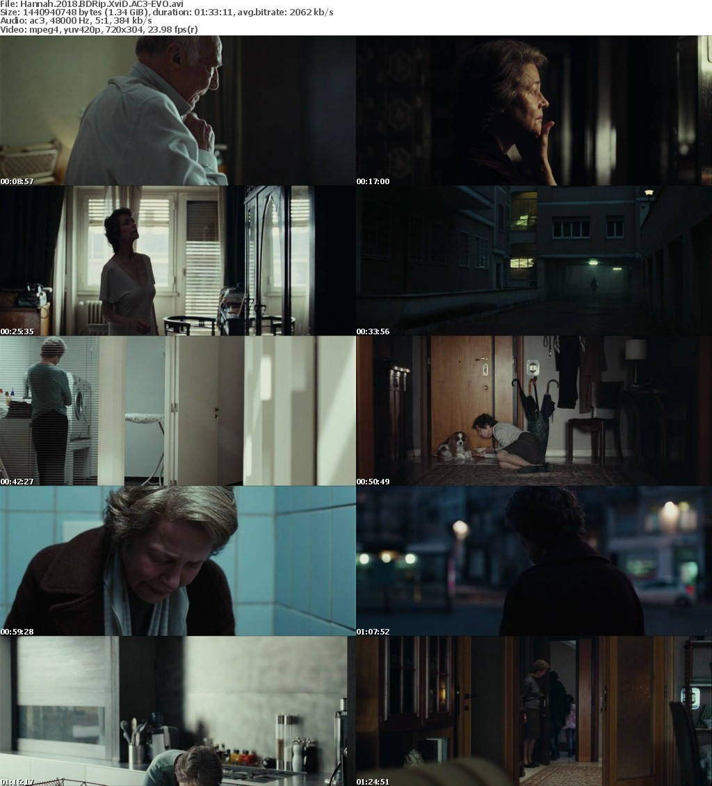 Hannah (2018) BDRip XviD AC3-EVO