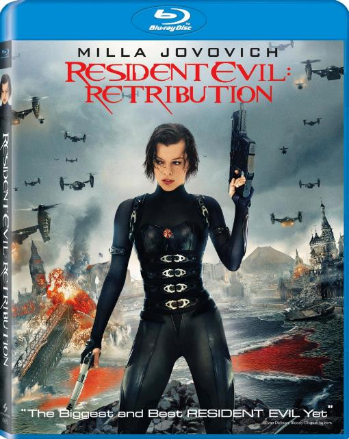 Resident Evil Retribution (2012) 720p BluRay Dual Audio  [Hindi ORG DD 5.1+Eng] 1.45GB-DLW