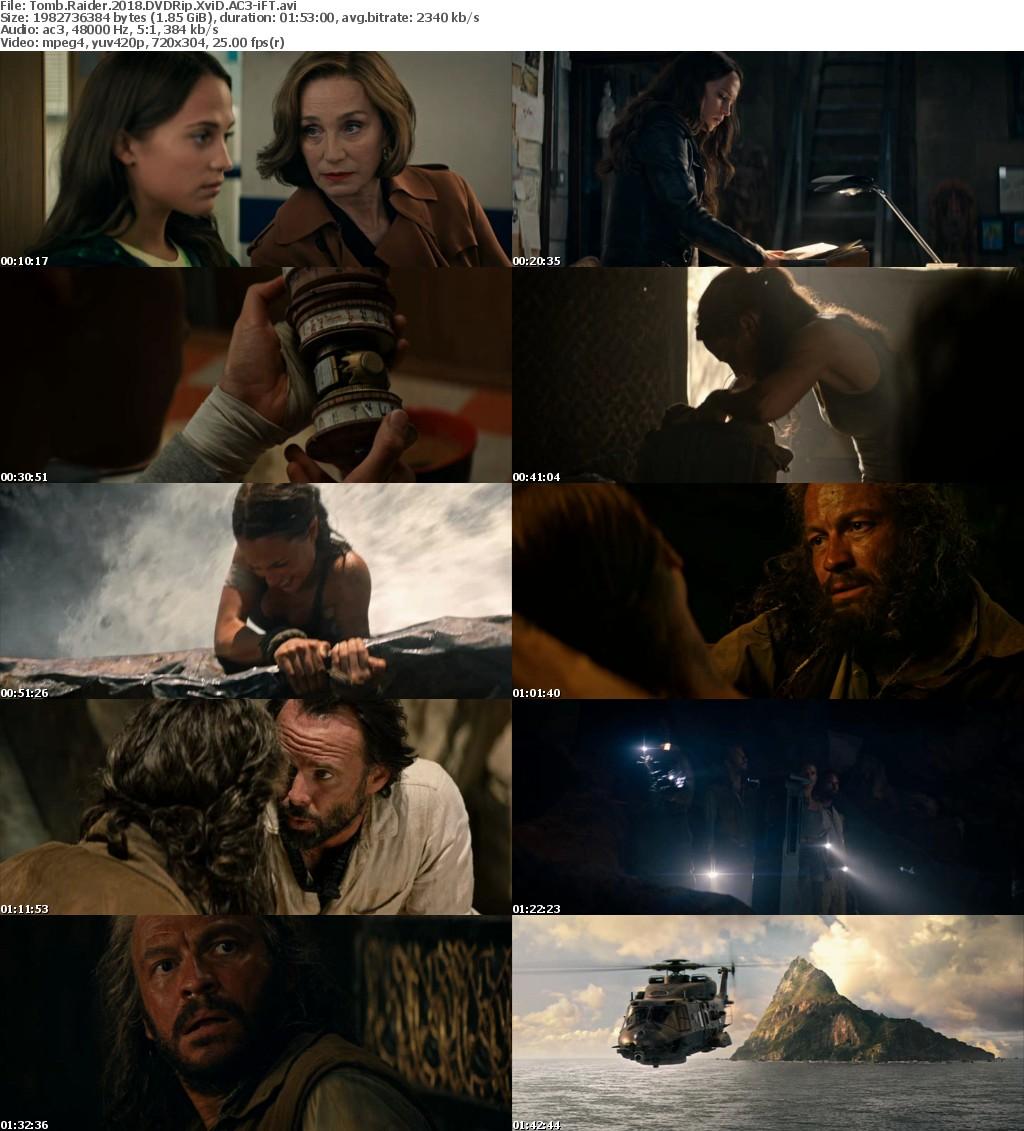 Tomb Raider 2018 DVDRip XviD AC3-iFT